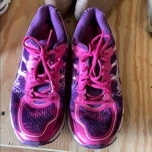 Women's ASICS running shoe